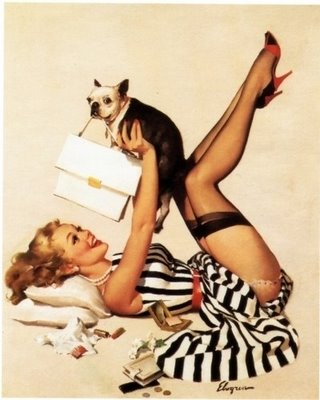 Pinup Dog